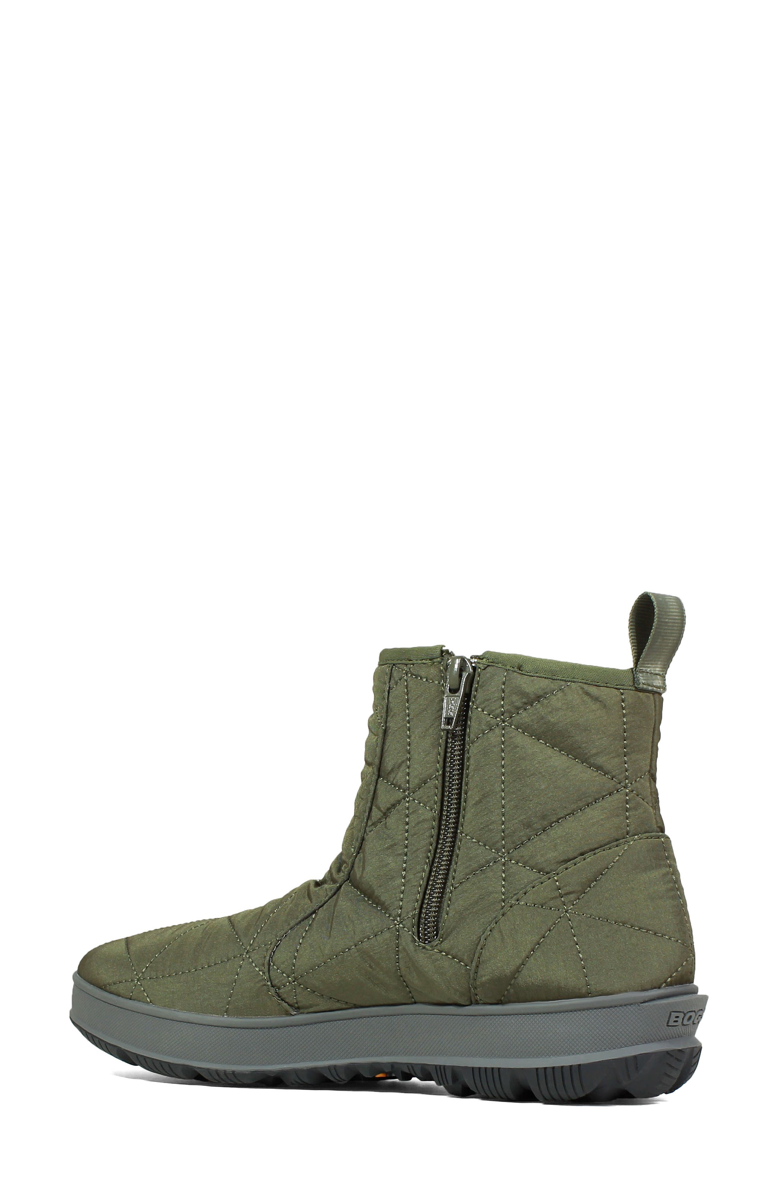 ,                             Snowday Waterproof Quilted Snow Boot,                             Alternate thumbnail 18, color,                             301