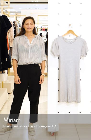 Waisting Time Mini Stripe T-Shirt Dress, sales video thumbnail