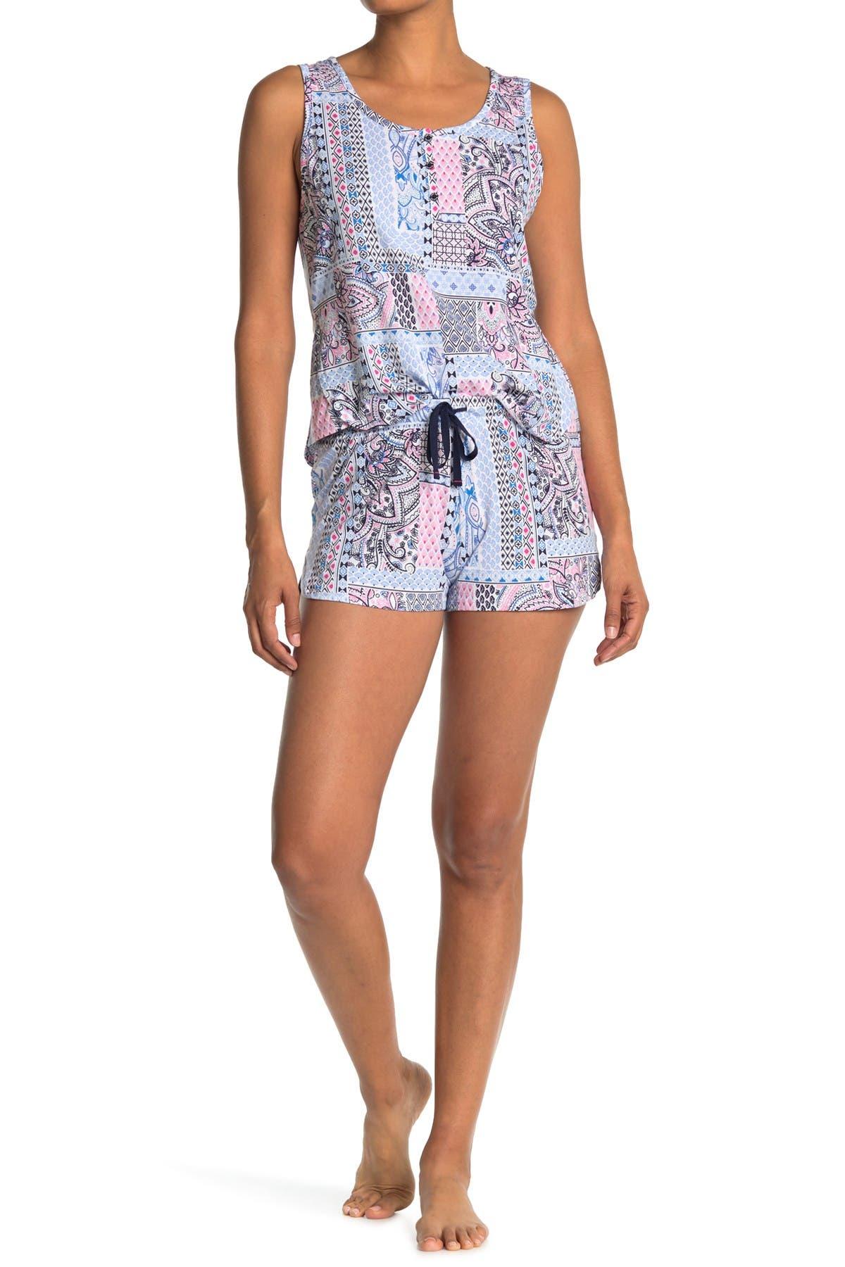 Image of Jane & Bleecker New York Stripe 2-Piece Pajama Set