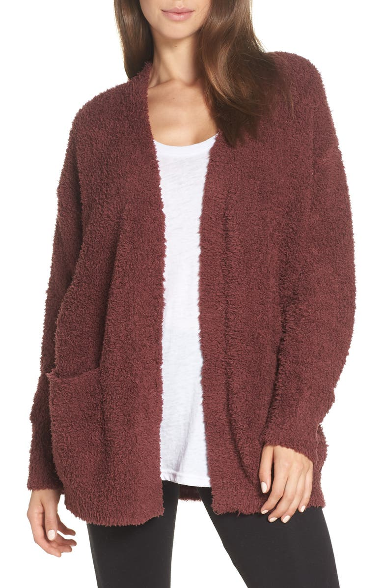 CozyChic<sup>®</sup> Cardigan, Main, color, ROSEWOOD