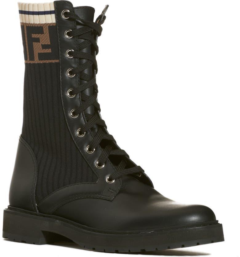 f40c7512edb Rockoko Chelsea Sock Combat Boot