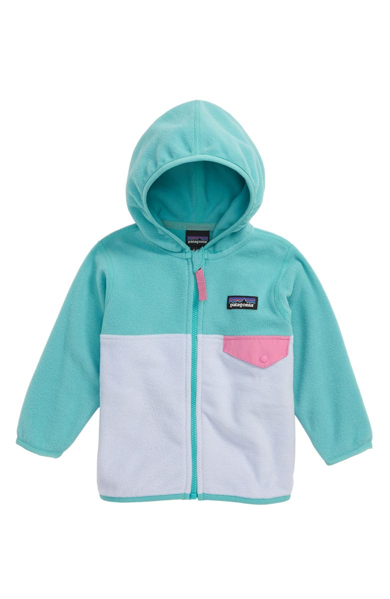 PATAGONIA Micro D<sup>®</sup> Snap-T<sup>®</sup> Fleece Jacket, Main, color, BELUGA