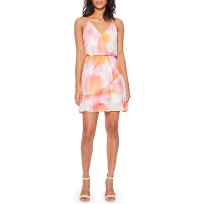 Parker Kesha Sleeveless Silk Blend Sundress, Pink