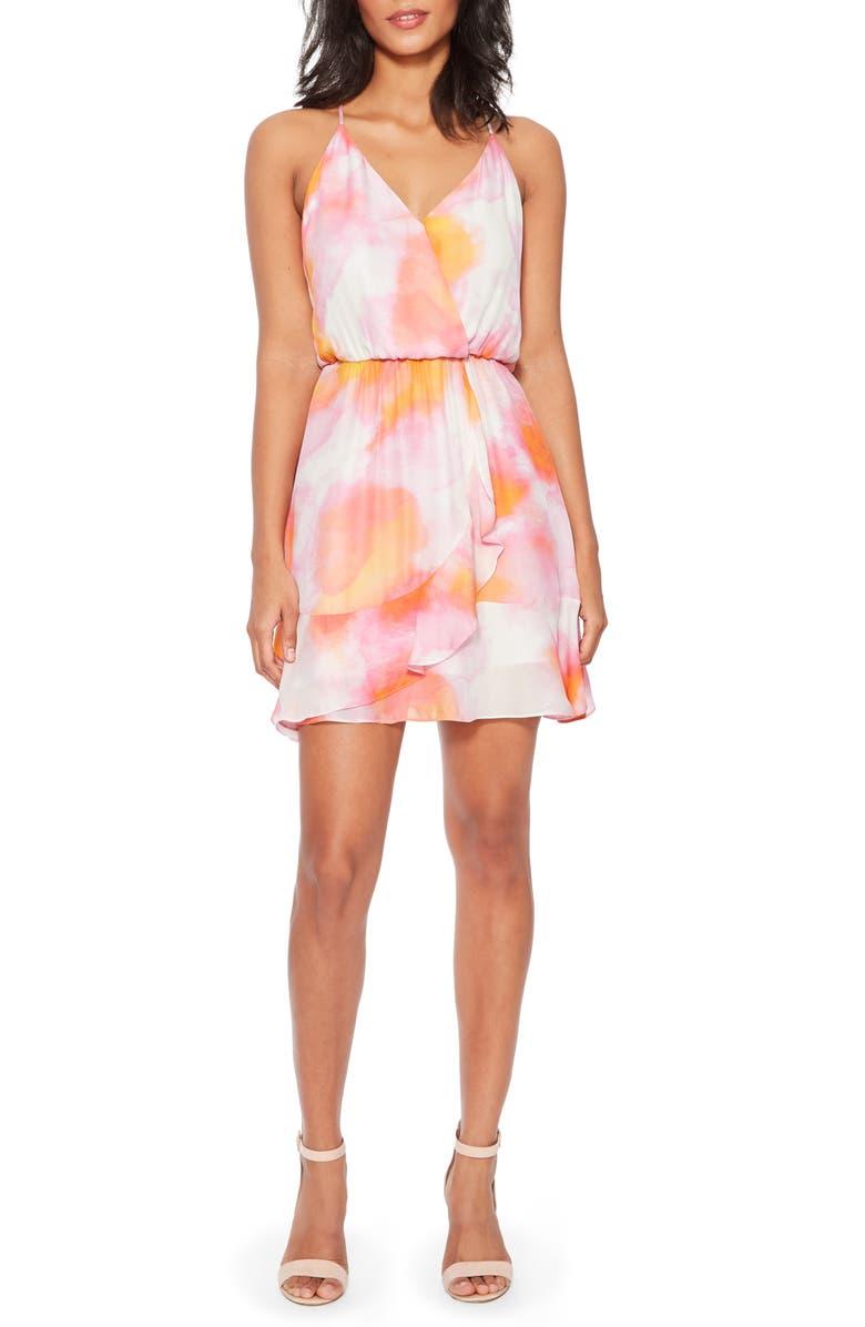 PARKER Kesha Sleeveless Silk Blend Sundress, Main, color, 650