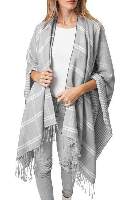 Image of Just Jamie Reversible Plaid Super Soft Wrap