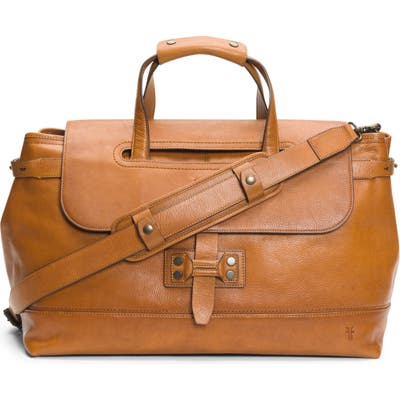 Frye Bowery Leather Duffle Bag - Brown