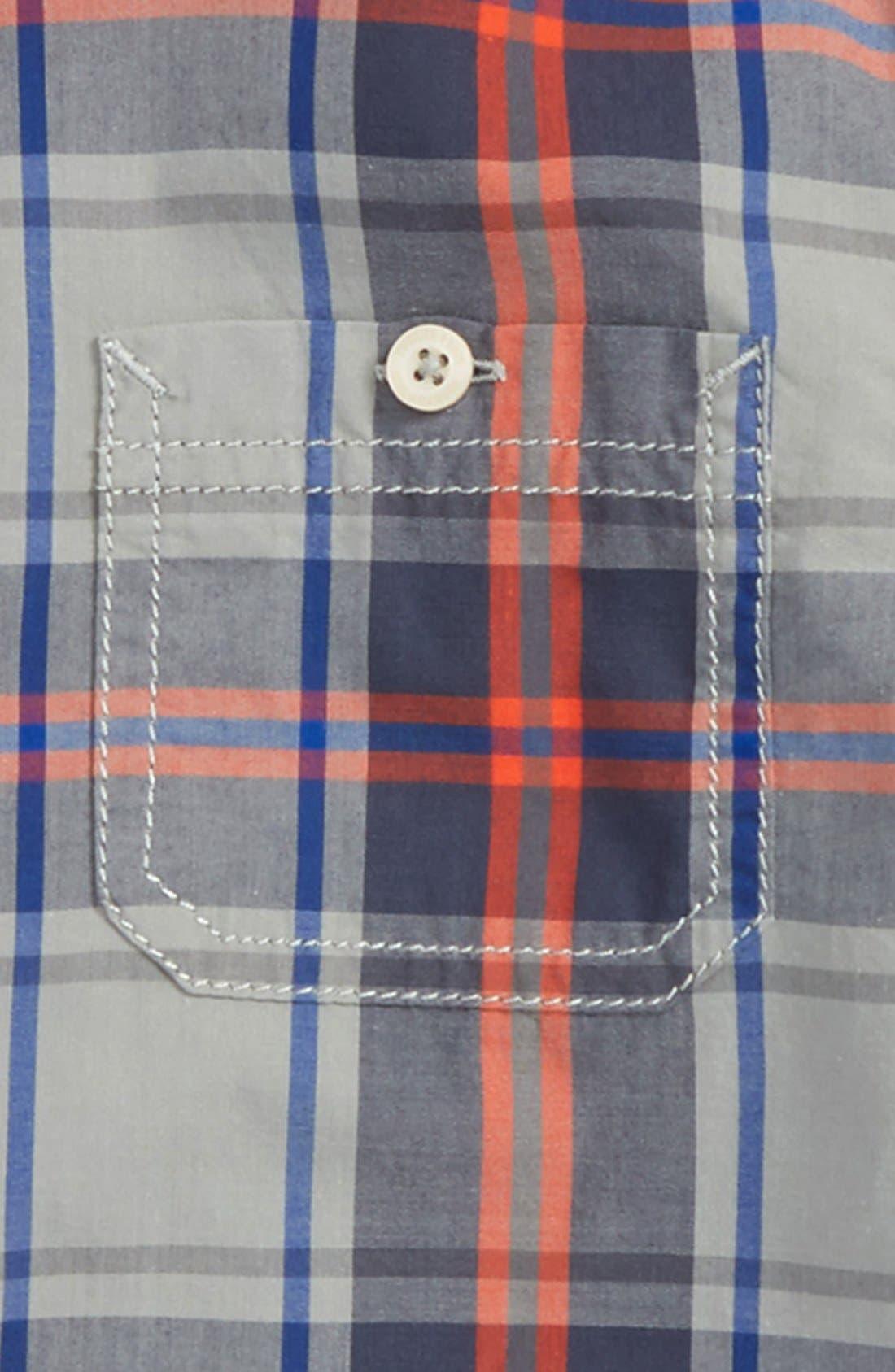 ,                             'Photo' Buffalo Plaid Woven Shirt,                             Alternate thumbnail 14, color,                             051