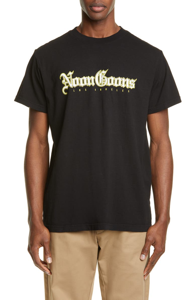 NOON GOONS Local Graphic T-Shirt, Main, color, BLACK