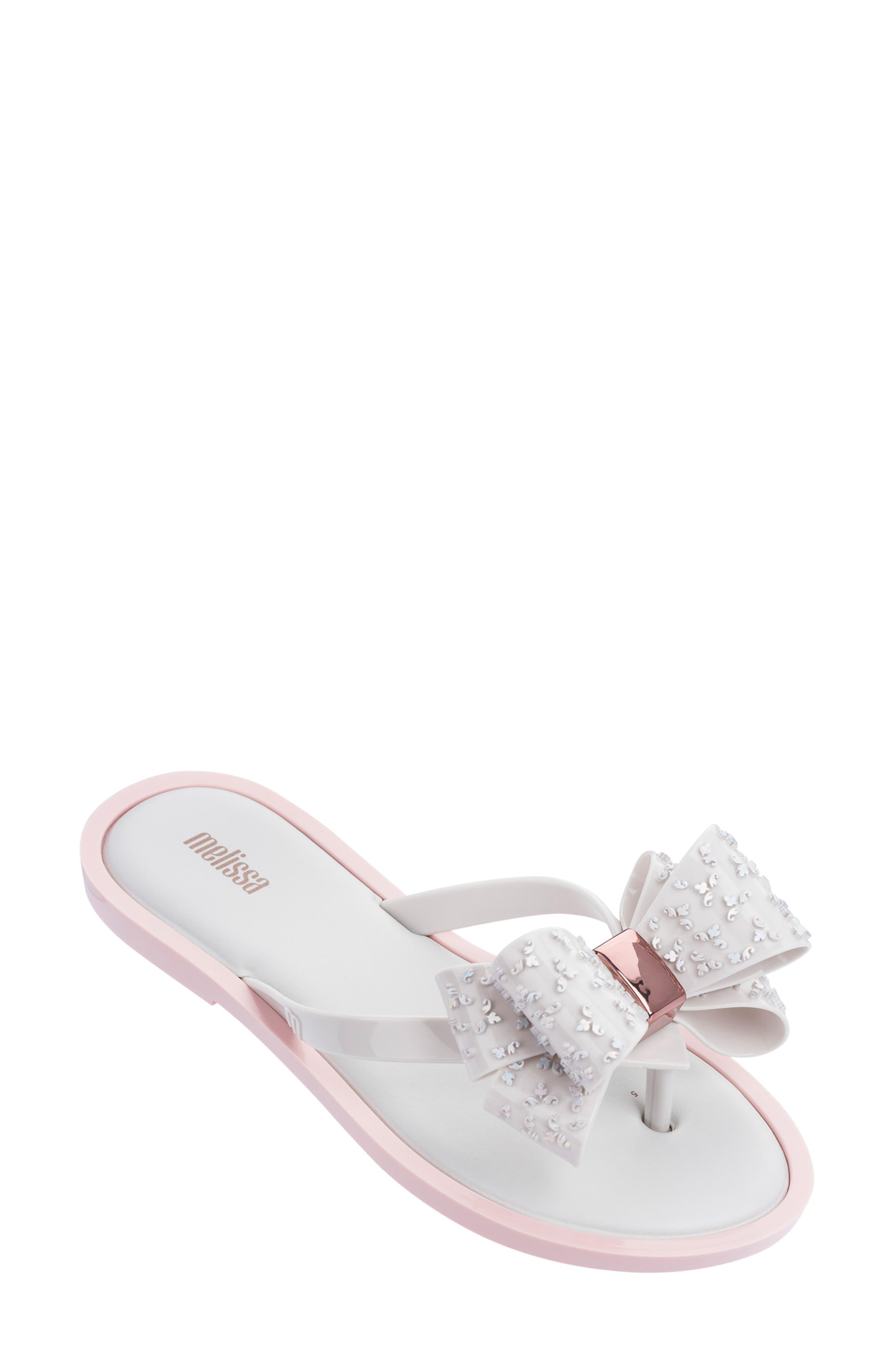 Melissa Sweet Flip Flop, White