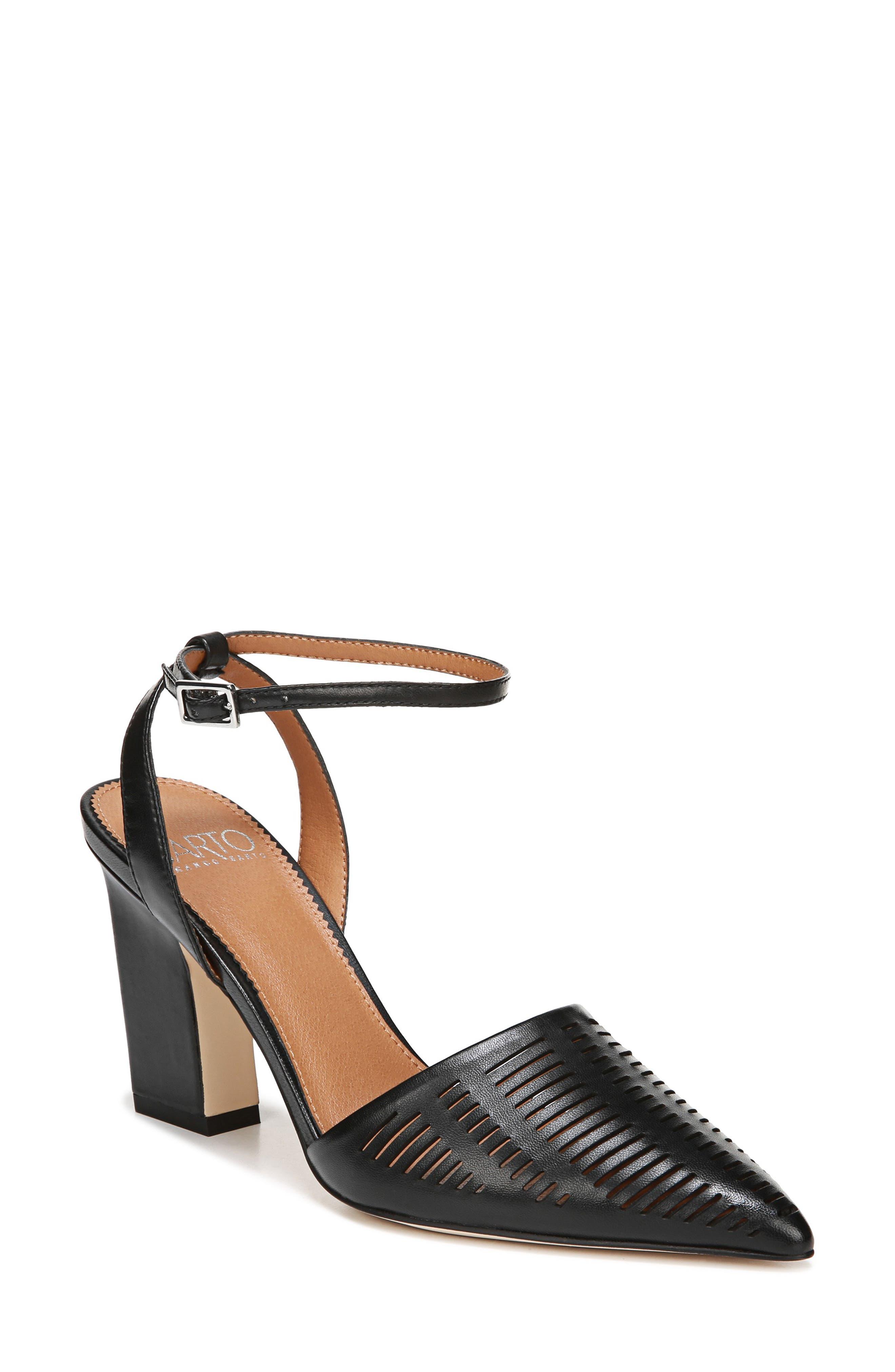 Sarto By Franco Sarto Starla Ankle Strap Pump- Black
