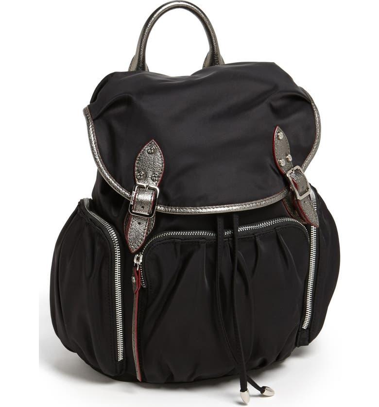 MZ WALLACE 'Marlena' Nylon Backpack, Main, color, 006