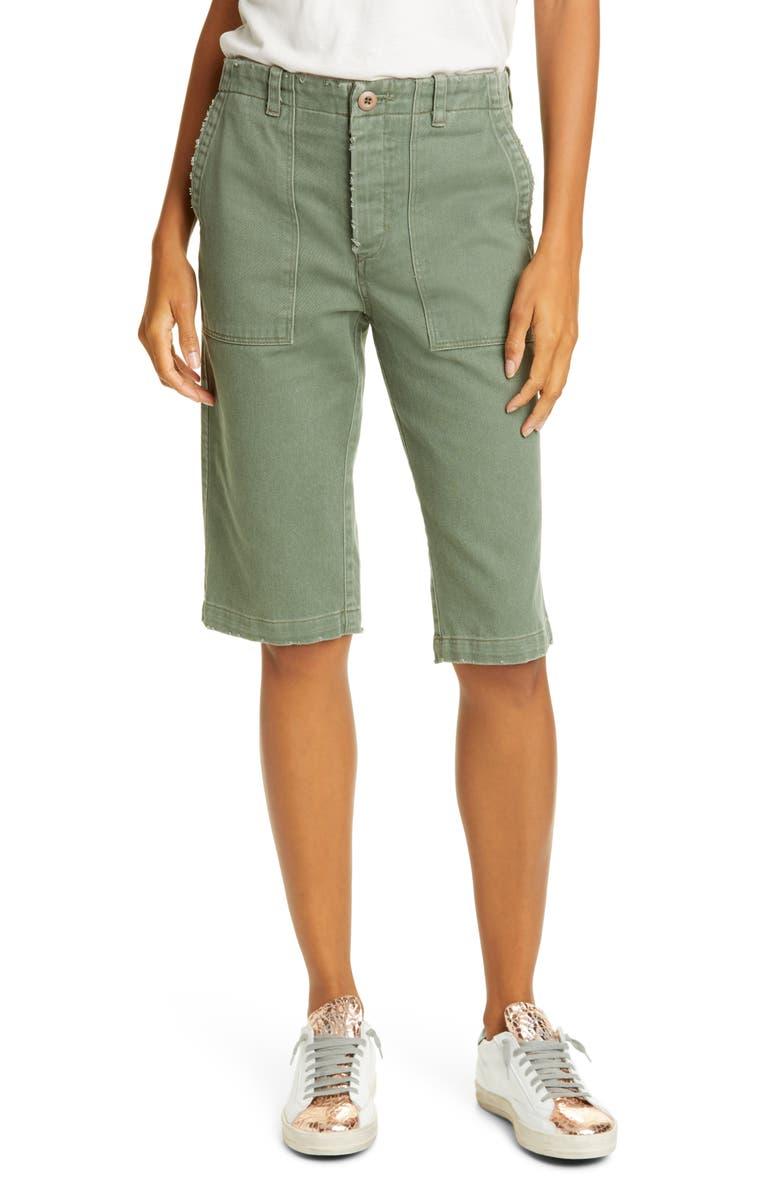 LE SUPERBE Beach Crawler Bermuda Shorts, Main, color, KUSH