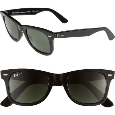 Ray-Ban Standard Classic Wayfarer 50Mm Polarized Sunglasses -