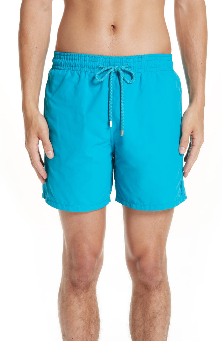 VILEBREQUIN Moorea Double Focus Water-Reactive Swim Trunks, Main, color, BLUE