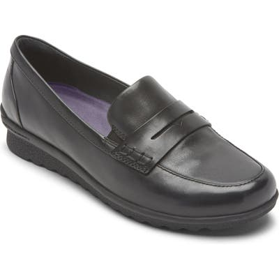 Aravon Josie Water Repellent Penny Loafer B - Black