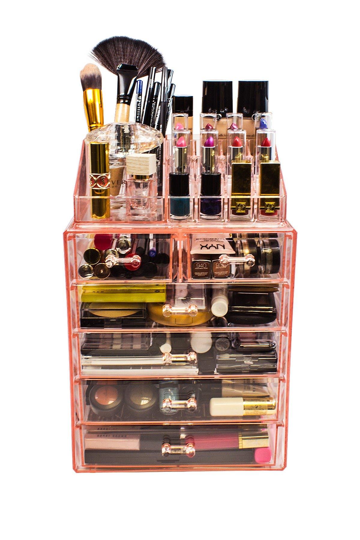 Image of Sorbus Makeup Storage Organizer - Pink