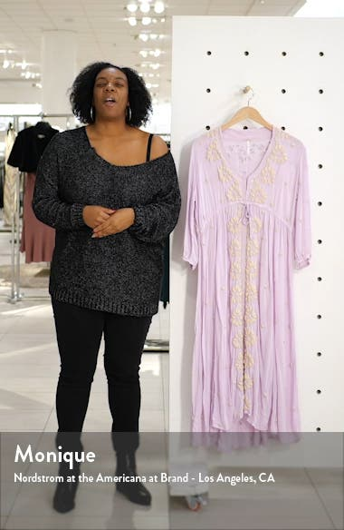Embroidered Midi Dress, sales video thumbnail