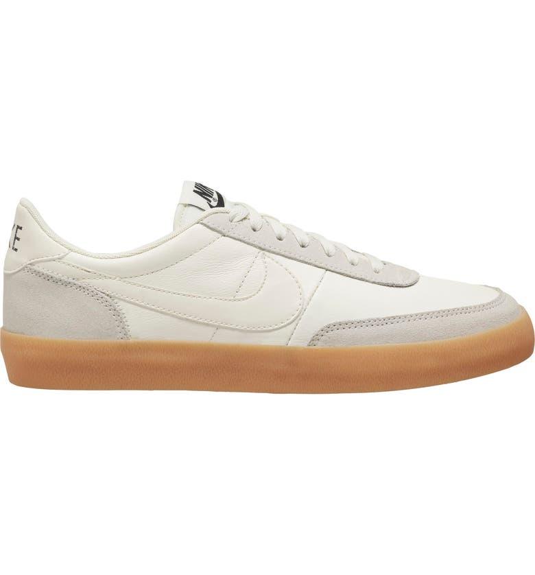 NIKE Killshot 2 Sneaker, Main, color, SAIL/ SAIL-GUM YELLOW-BLACK
