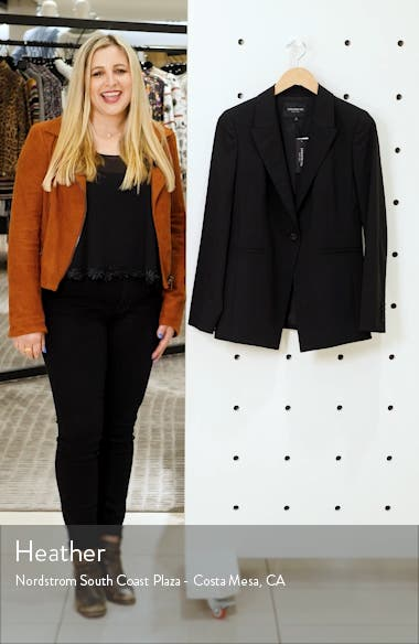 Charice Stretch Wool Jacket, sales video thumbnail