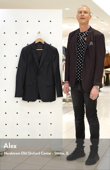 Trim Fit Stripe Wool Sport Coat, sales video thumbnail