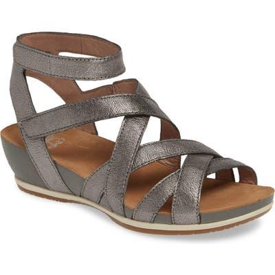 Dansko Veruca Sandal - Metallic