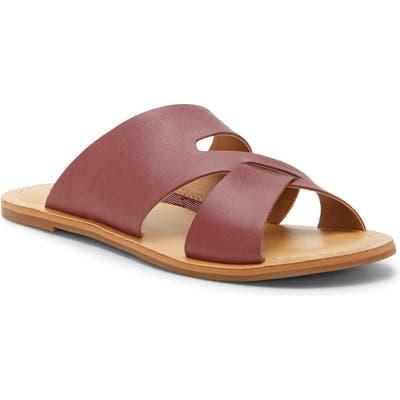 Lucky Brand Leelan Slide Sandal, Purple