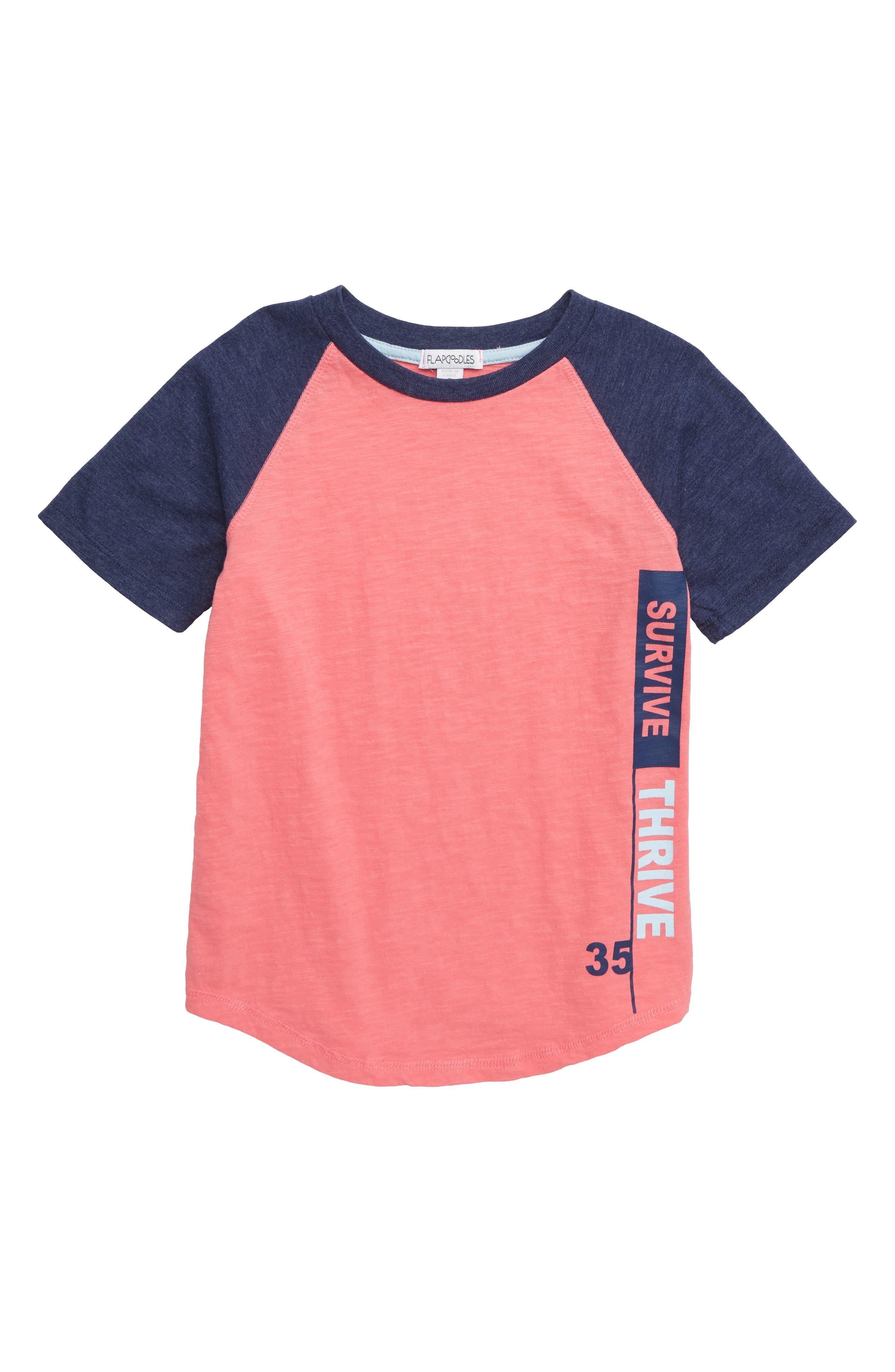 Raglan Jersey Shirt, Main, color, 950