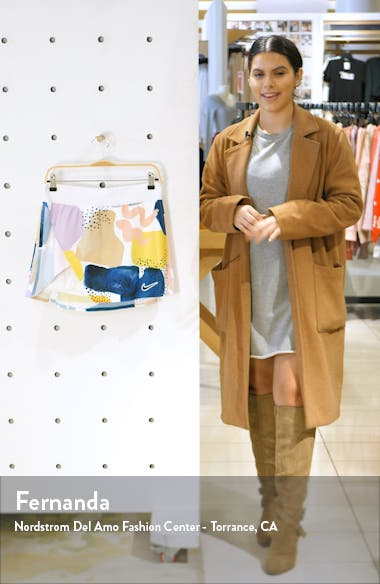 Court Faux Wrap Tennis Skirt, sales video thumbnail