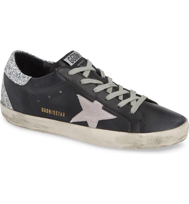 GOLDEN GOOSE Superstar Low Top Sneaker, Main, color, 001