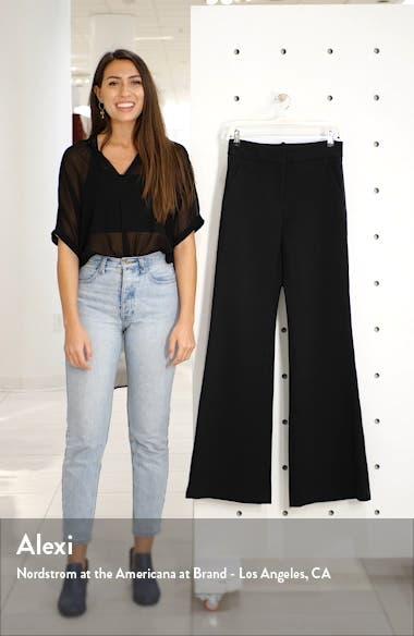 Lebone Tuxedo Stripe Wide Leg Pants, sales video thumbnail