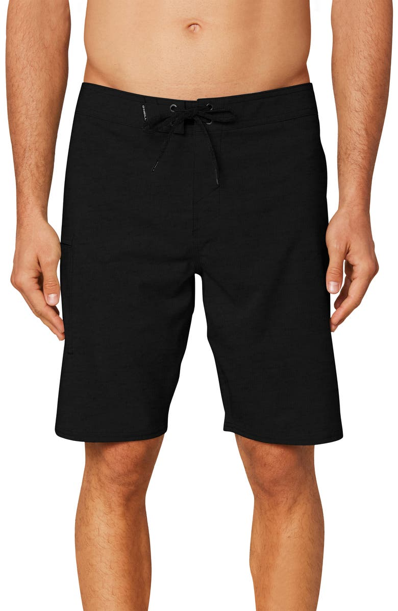 O'NEILL Hyperfreak Board Shorts, Main, color, BLACK