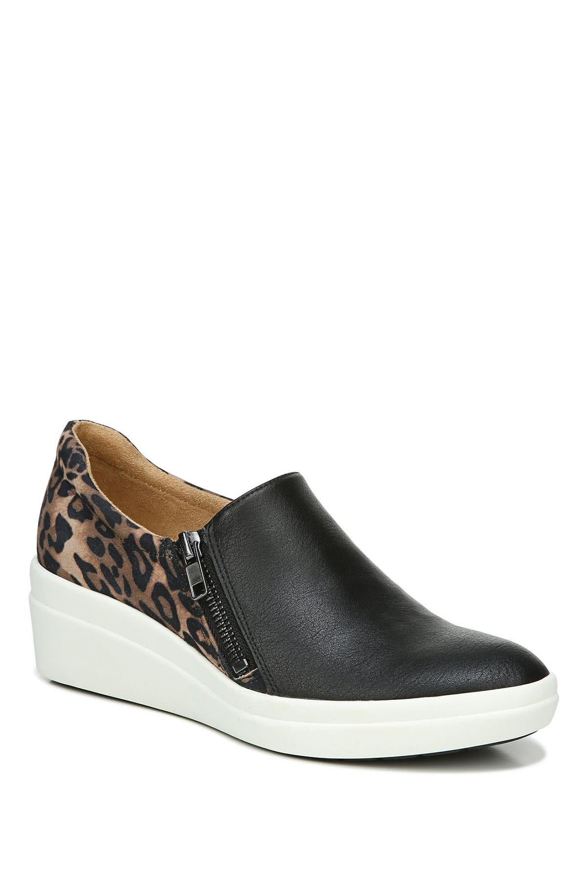 Image of Naturalizer Sierra Wedge Sneaker - Wide Width Available