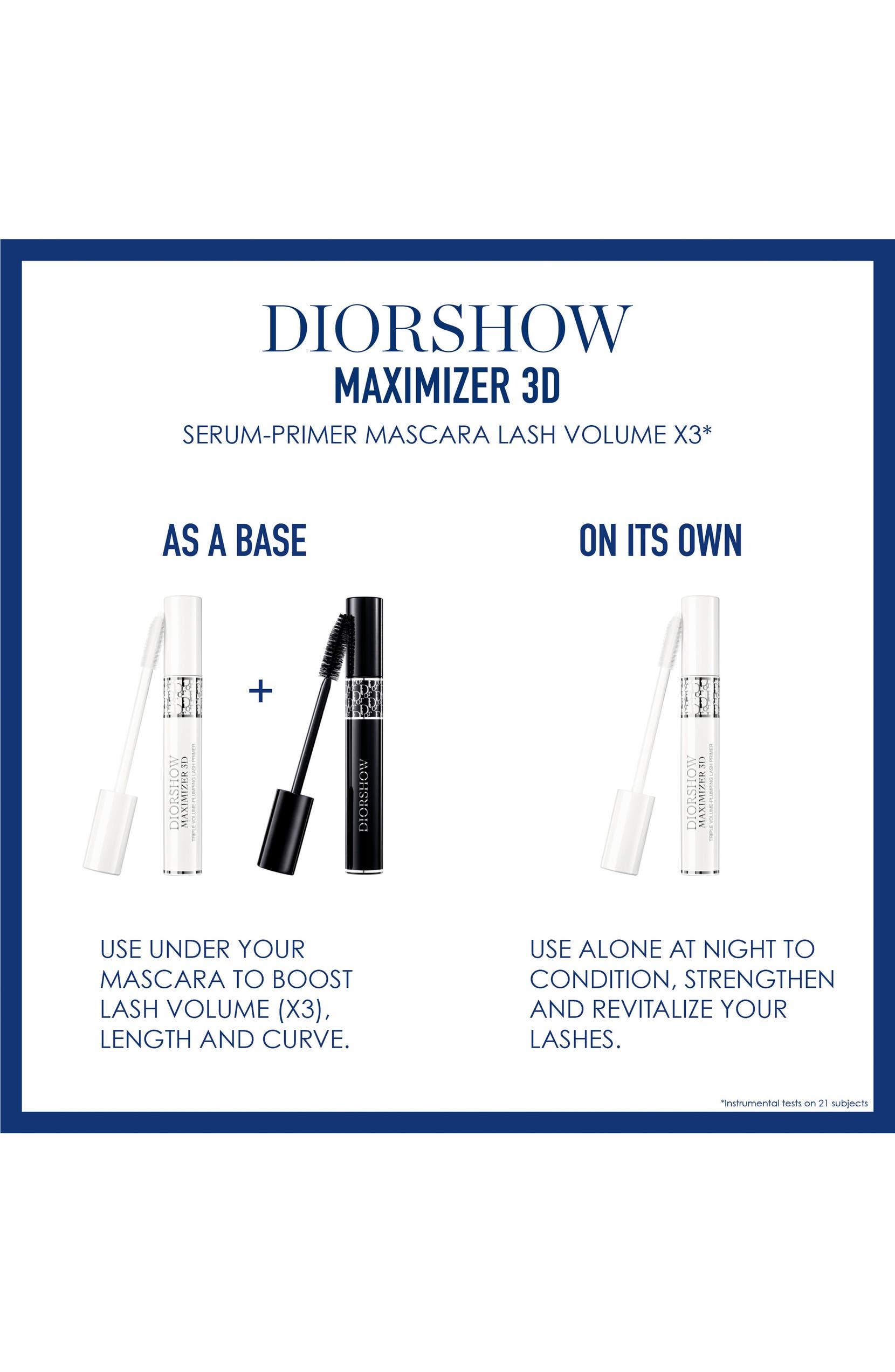 8a9a293a5fd Dior Diorshow Maximizer 3D Triple Volume Plumping Lash Primer | Nordstrom
