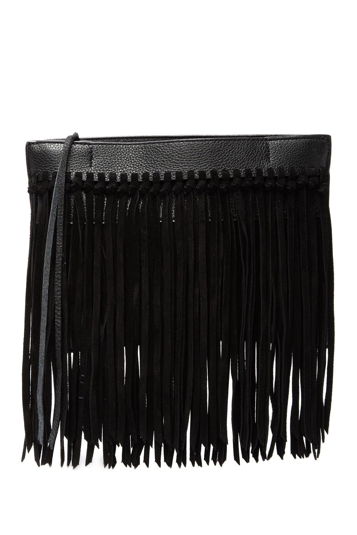 Image of Rebecca Minkoff Stevie Fringe Clutch