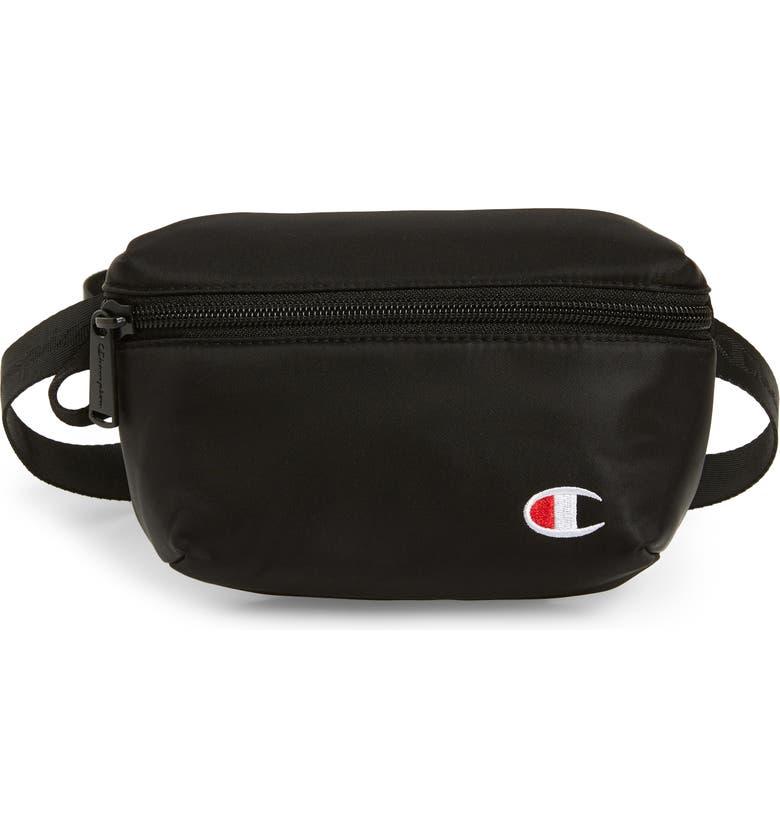 CHAMPION Cadet Belt Bag, Main, color, BLACK