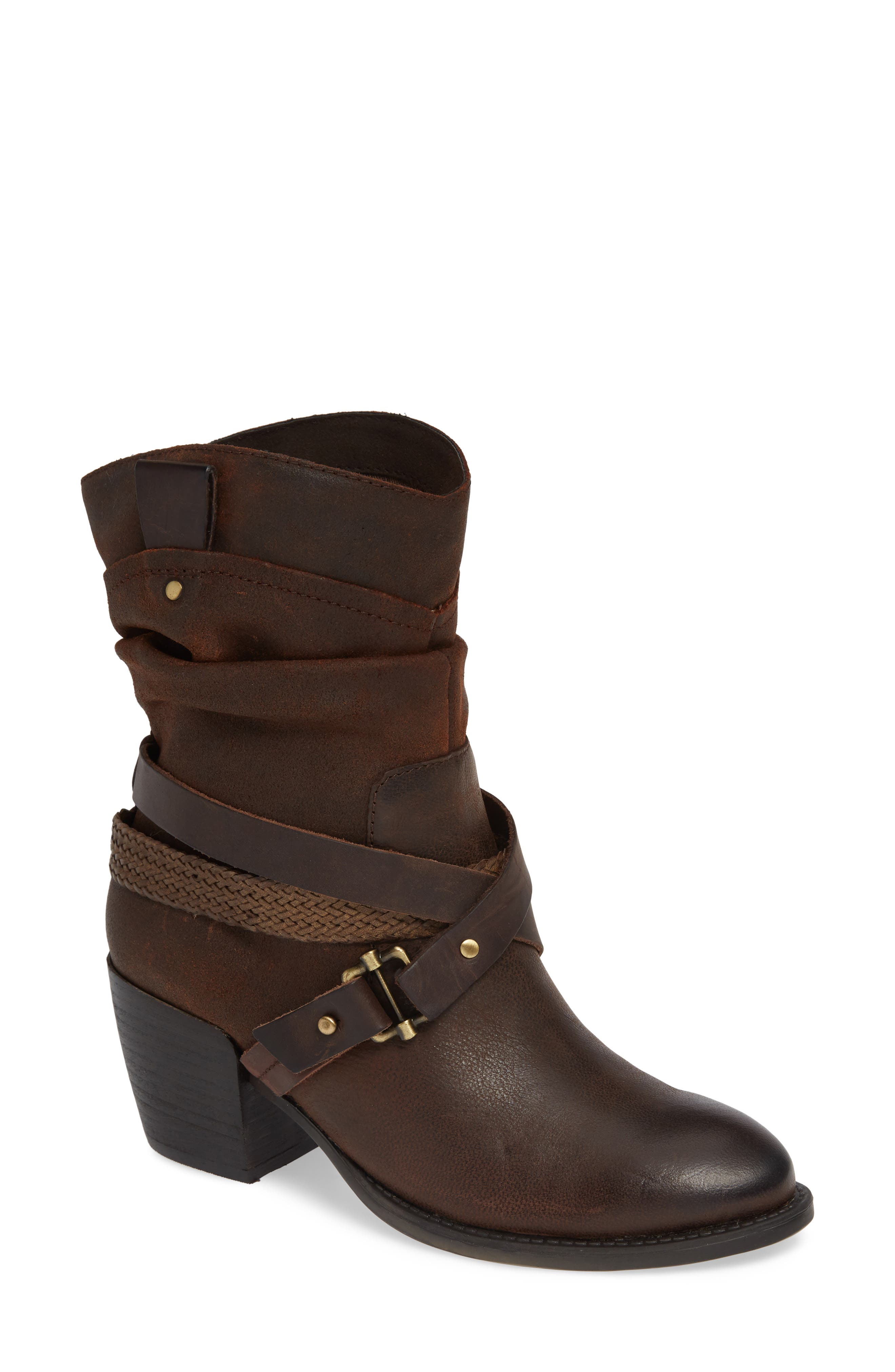 Otbt Hay Ride Bootie- Brown