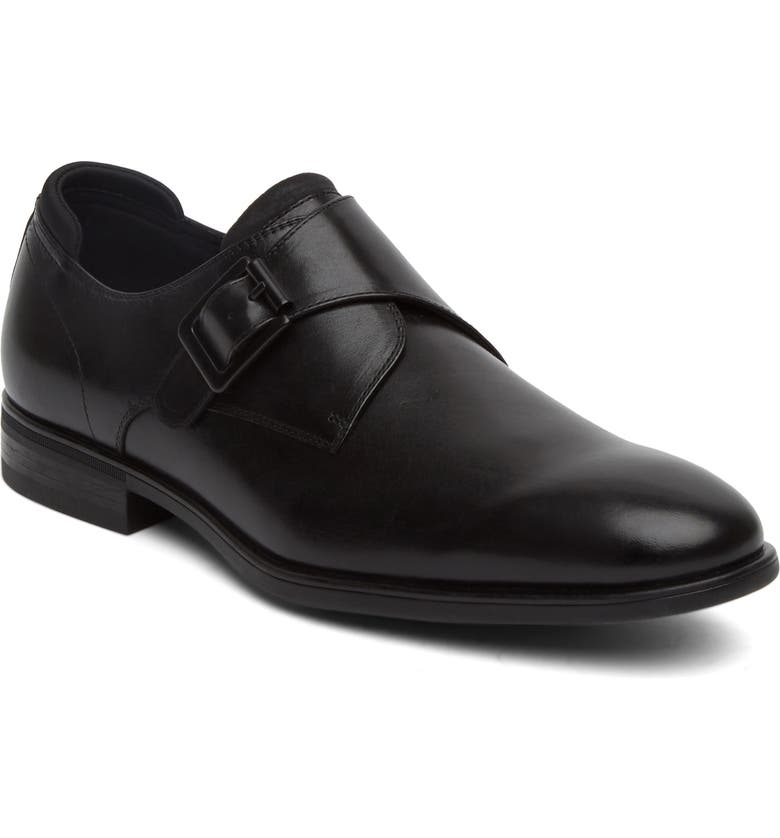 REACTION KENNETH COLE Kenneth Cole Reaction Edge Flex Monk Strap Shoe, Main, color, 001
