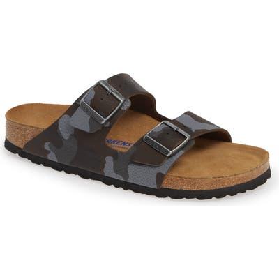 Birkenstock Arizona Soft Slide Sandal,11.5US / 44EU - Brown