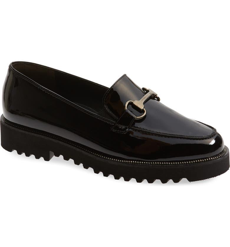 PAUL GREEN Nandi Bit Platform Loafer, Main, color, 005