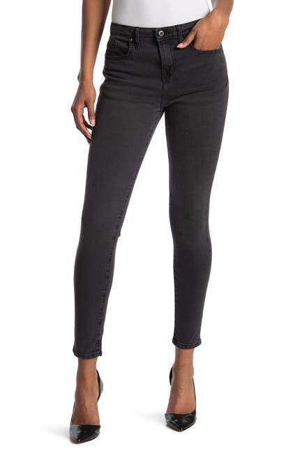 Image of Outland Denim Isabel Washed Black Skinny Jeans
