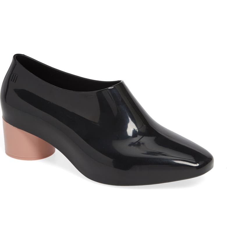 MELISSA Mid Pump, Main, color, BLACK PINK RUBBER