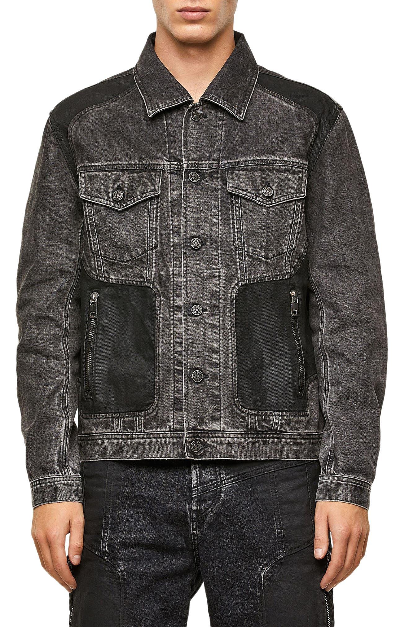 Men's Diesel Nhill-Rod Denim Jacket
