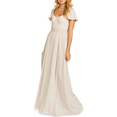 Show Me Your Mumu Marie Sweetheart Gown, Beige