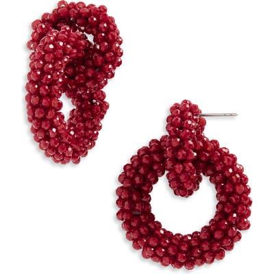 Baublebar Farida Beaded Hoop Earrings