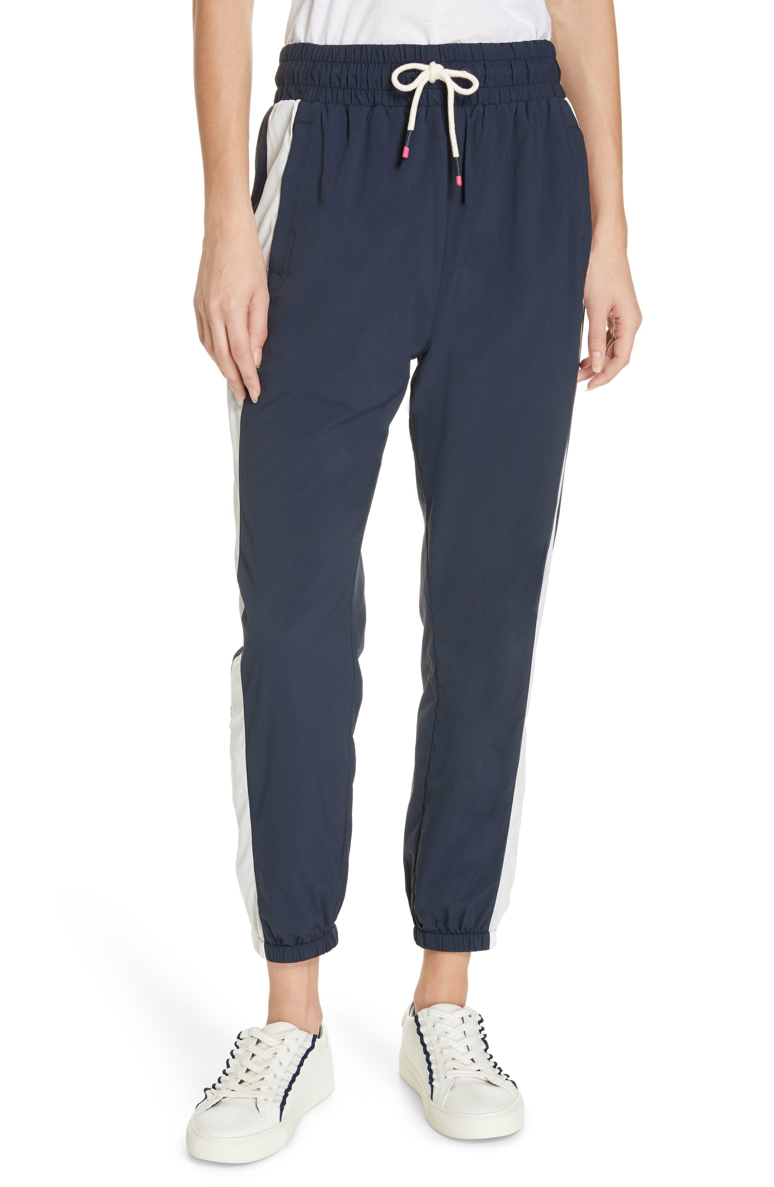 Tory Sport Nylon Jogger Pants, Blue