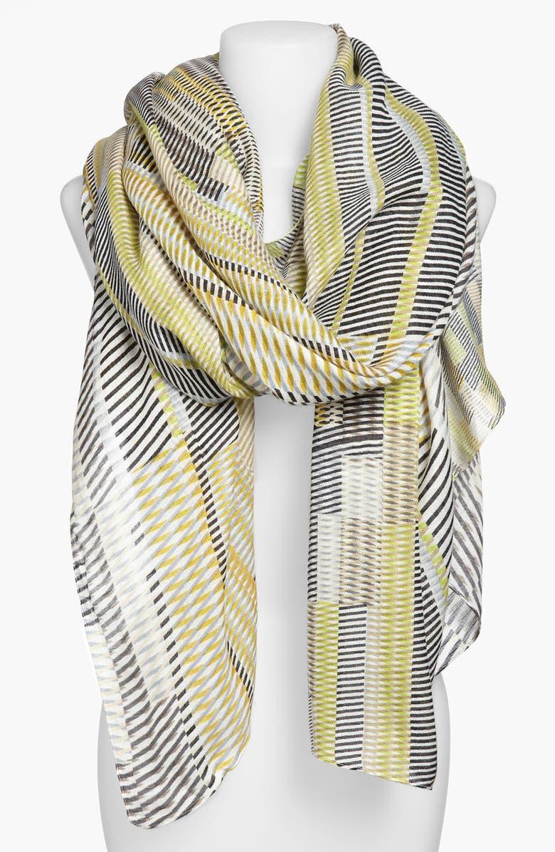 ECHO 'Loco' Stripe Wrap, Main, color, 001