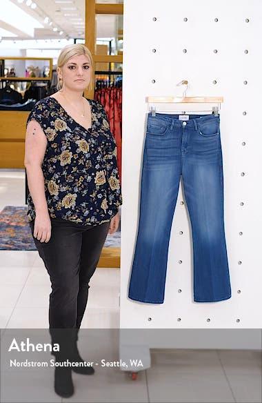 Le Crop High Waist Mini Boot Jeans, sales video thumbnail