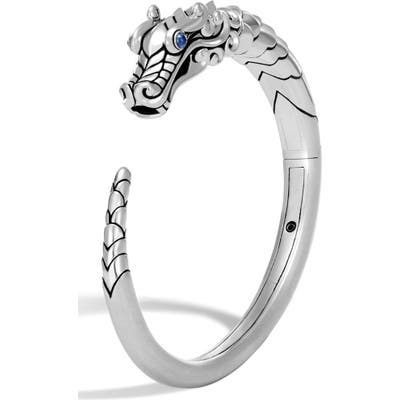 John Hardy Legends Naga Cuff Bracelet With Sapphires