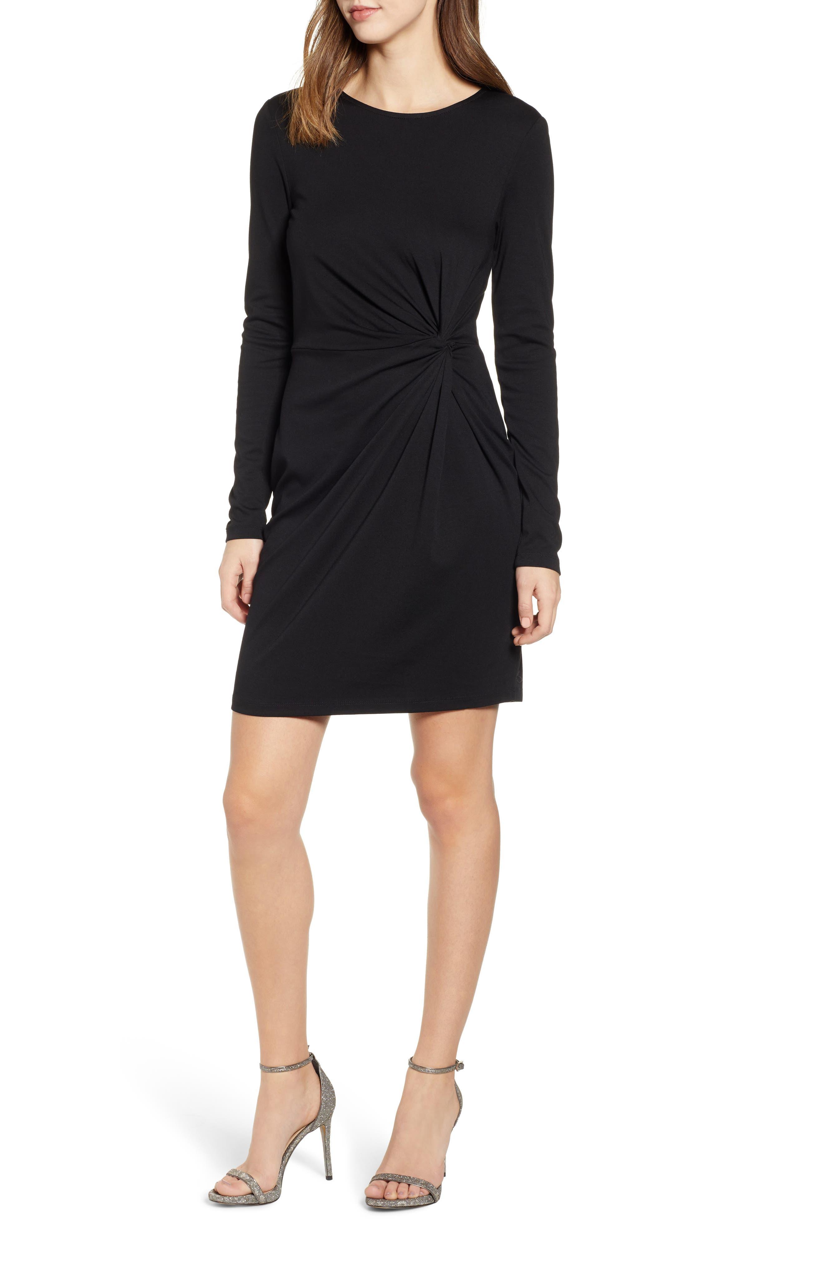 Vero Moda Mia Twist Dress, Black
