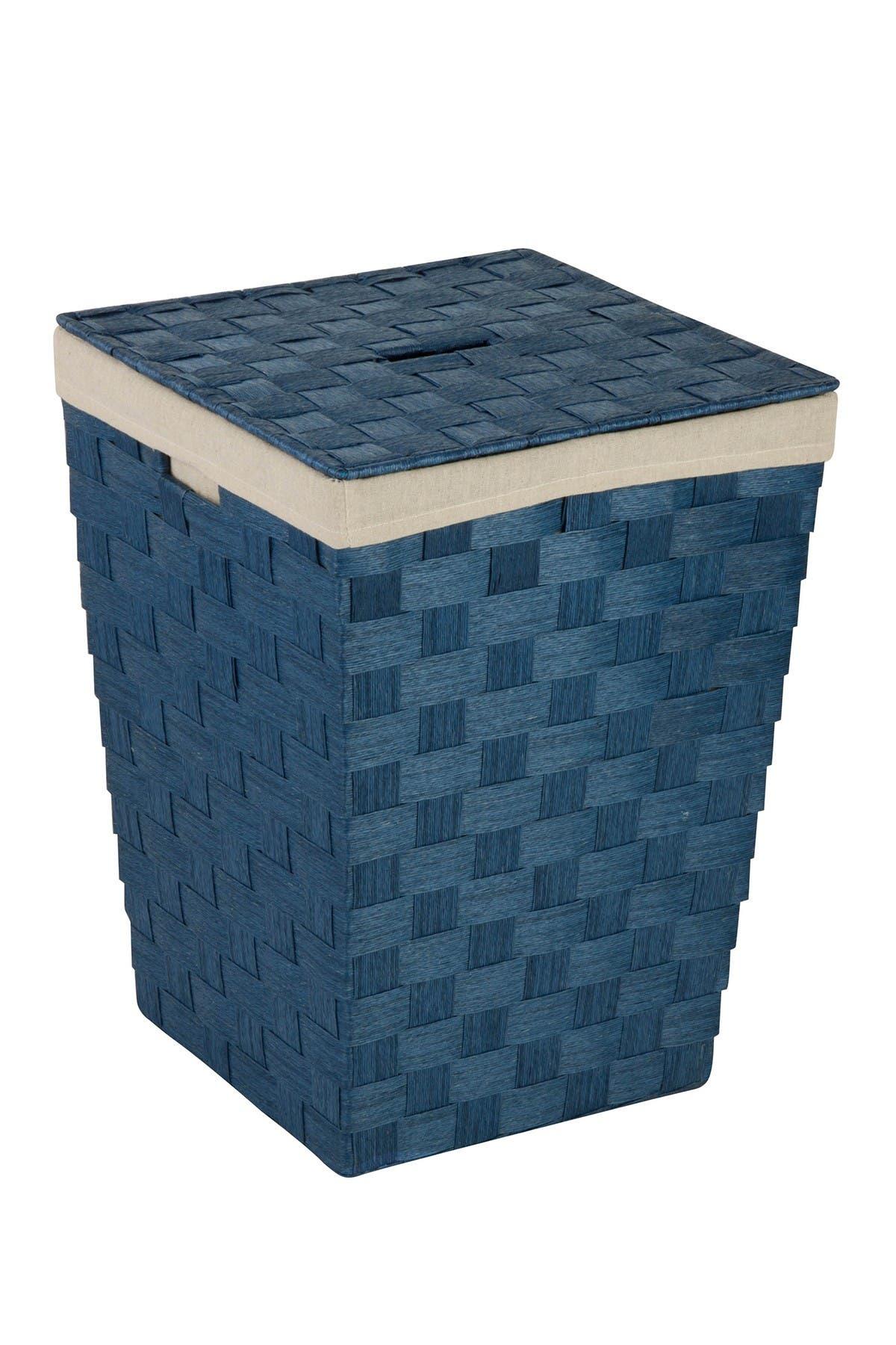 Image of Honey-Can-Do Basket Hamper with Liner